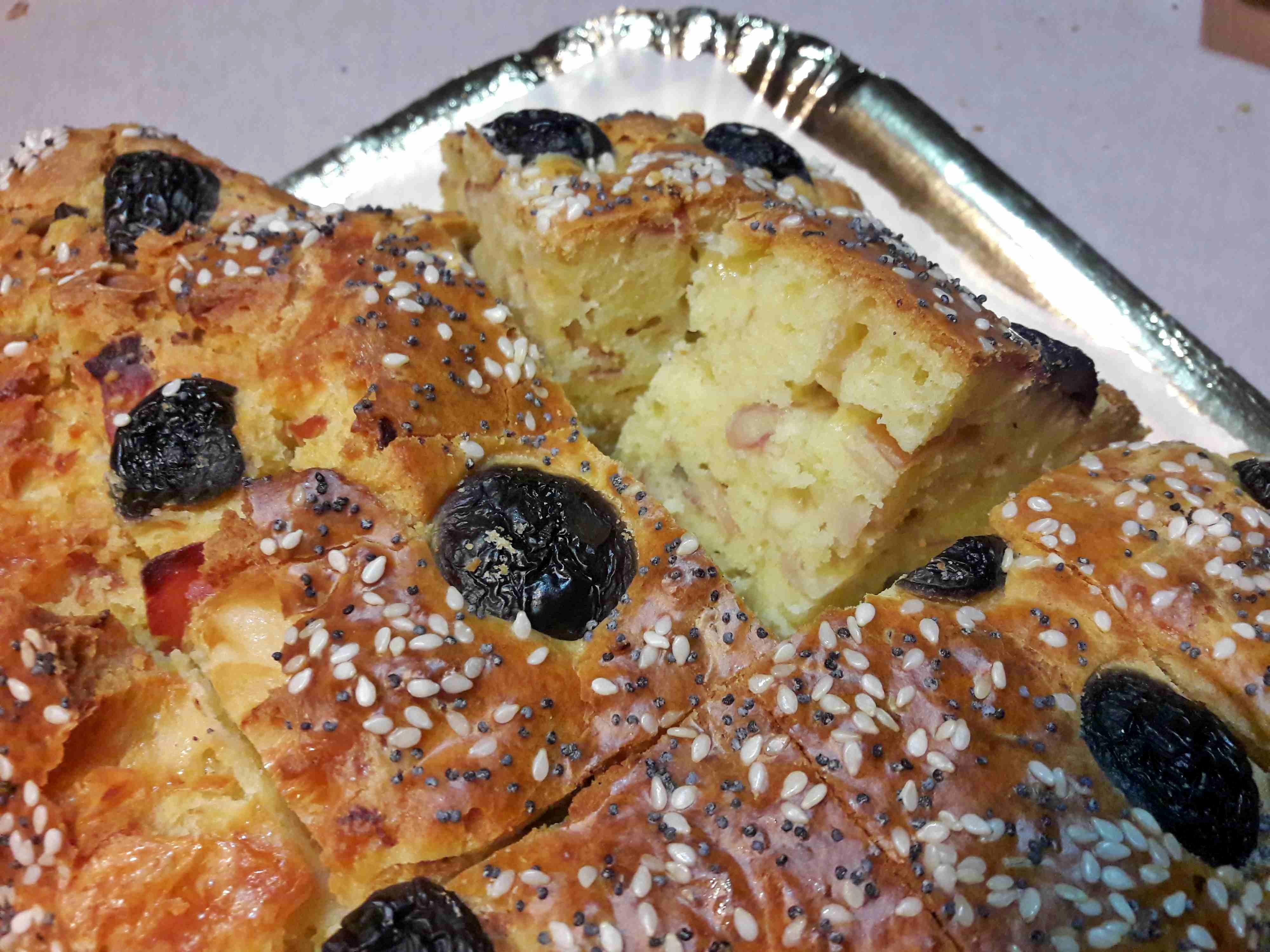 Torta Salata Stella Di Natale.Albero Di Natale Salato Rustico Per Le Feste Goloso E Veloce