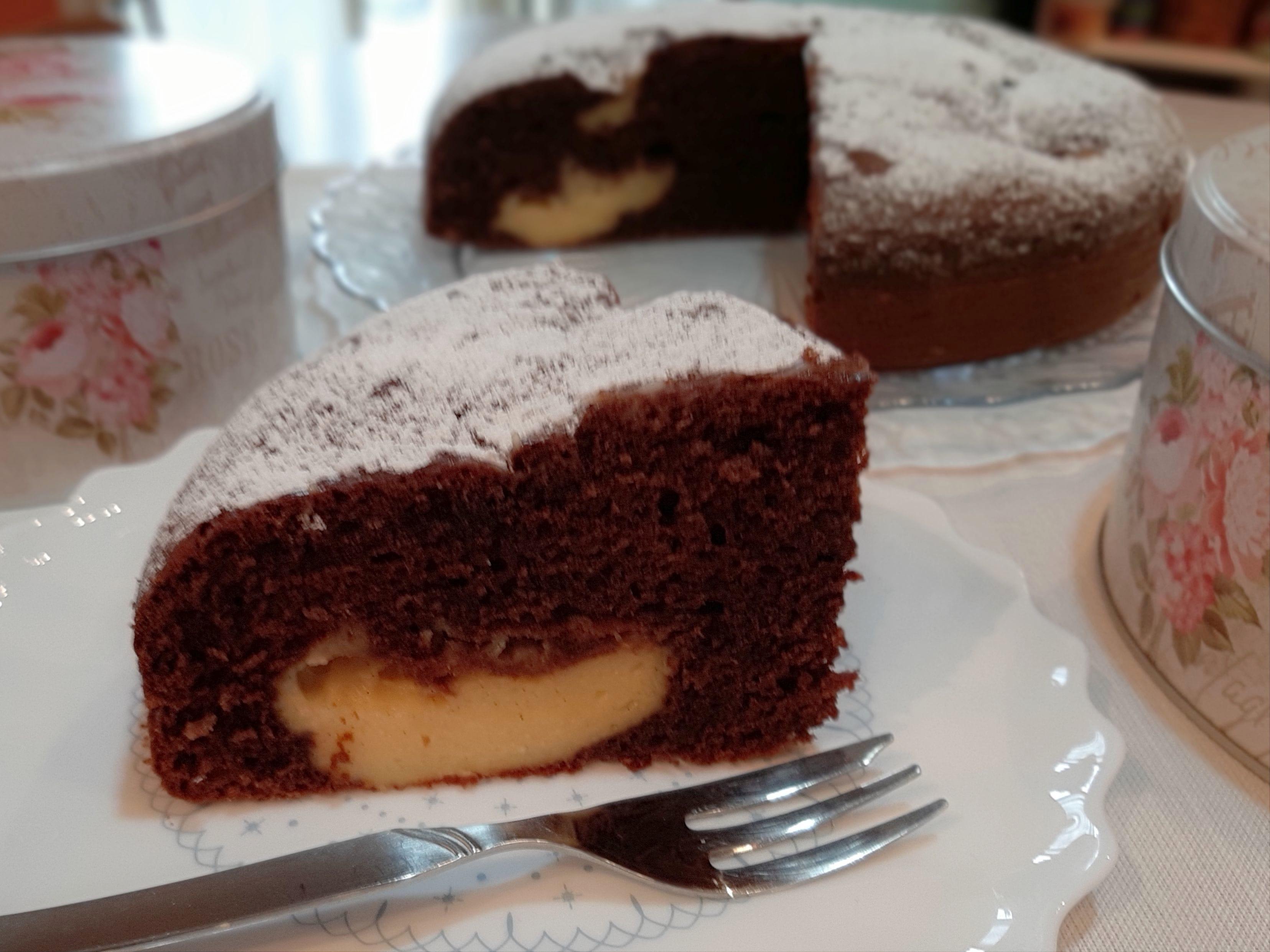 torta cioccolato e crema @VG-2