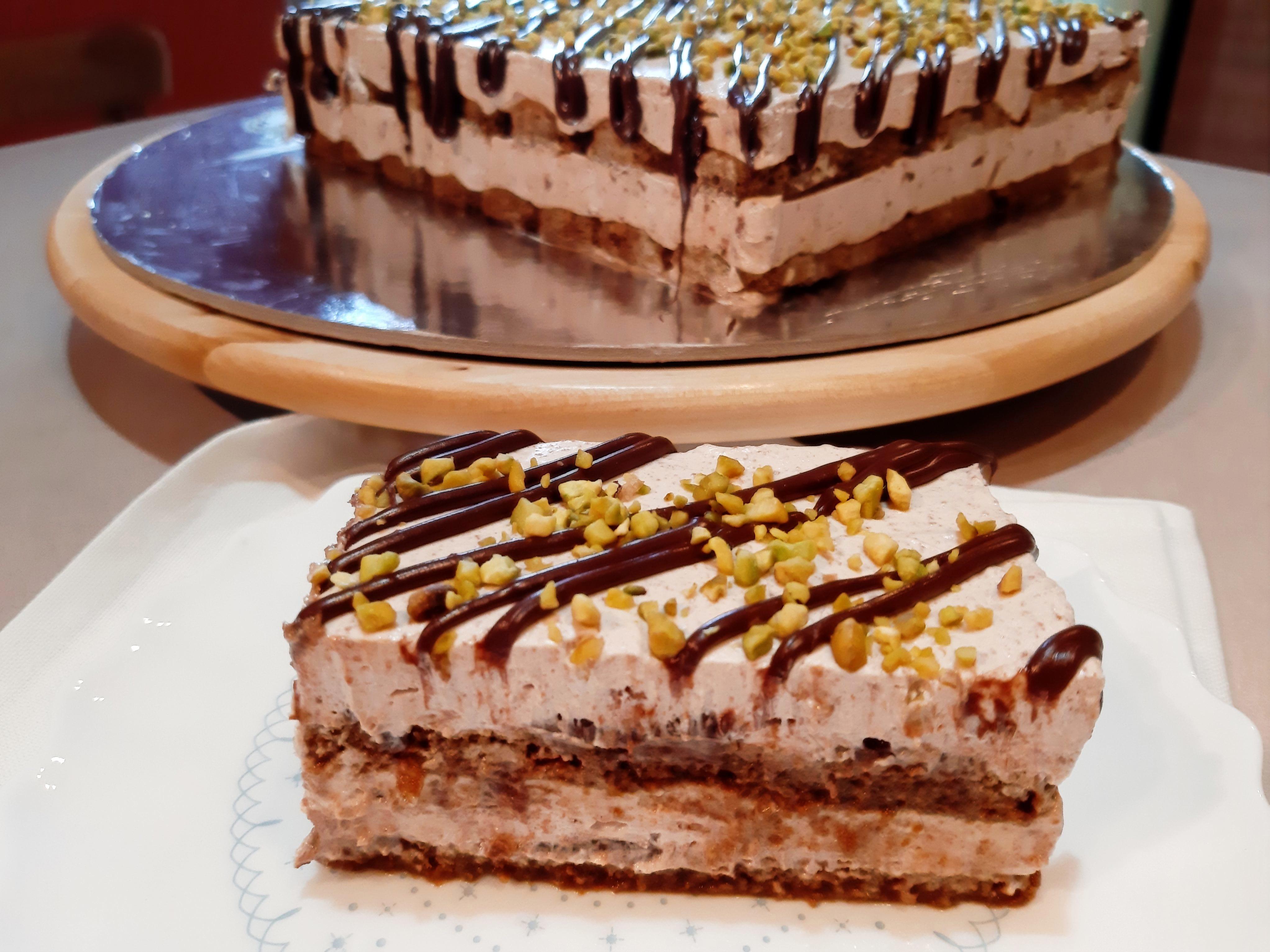 torta fredda con nutella fetta @VG-3
