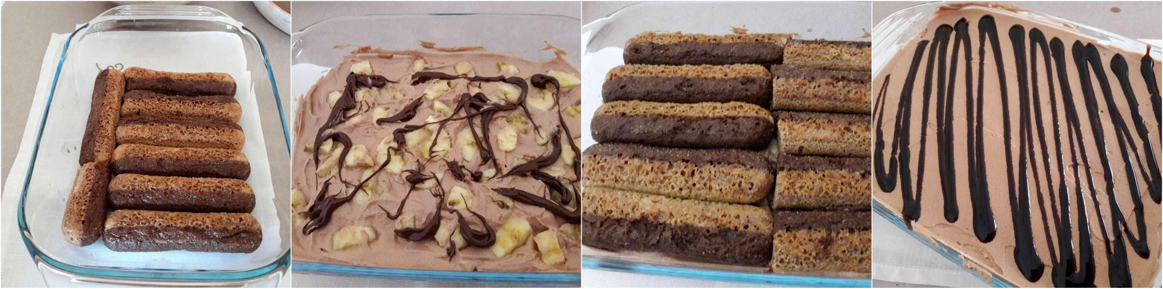 torta fredda cioccobanana box 2 VG-2