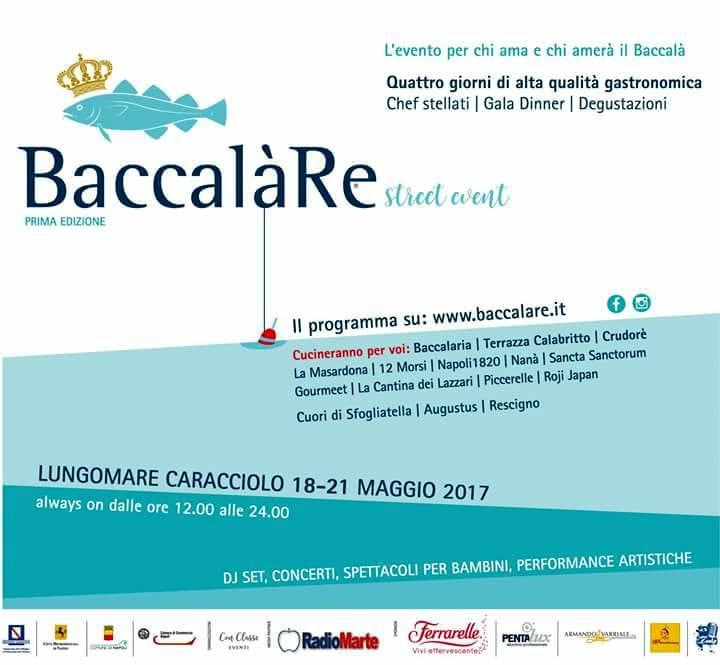 Baccalàre Lungomare Caracciolo Napoli 18 21 Maggio 2017