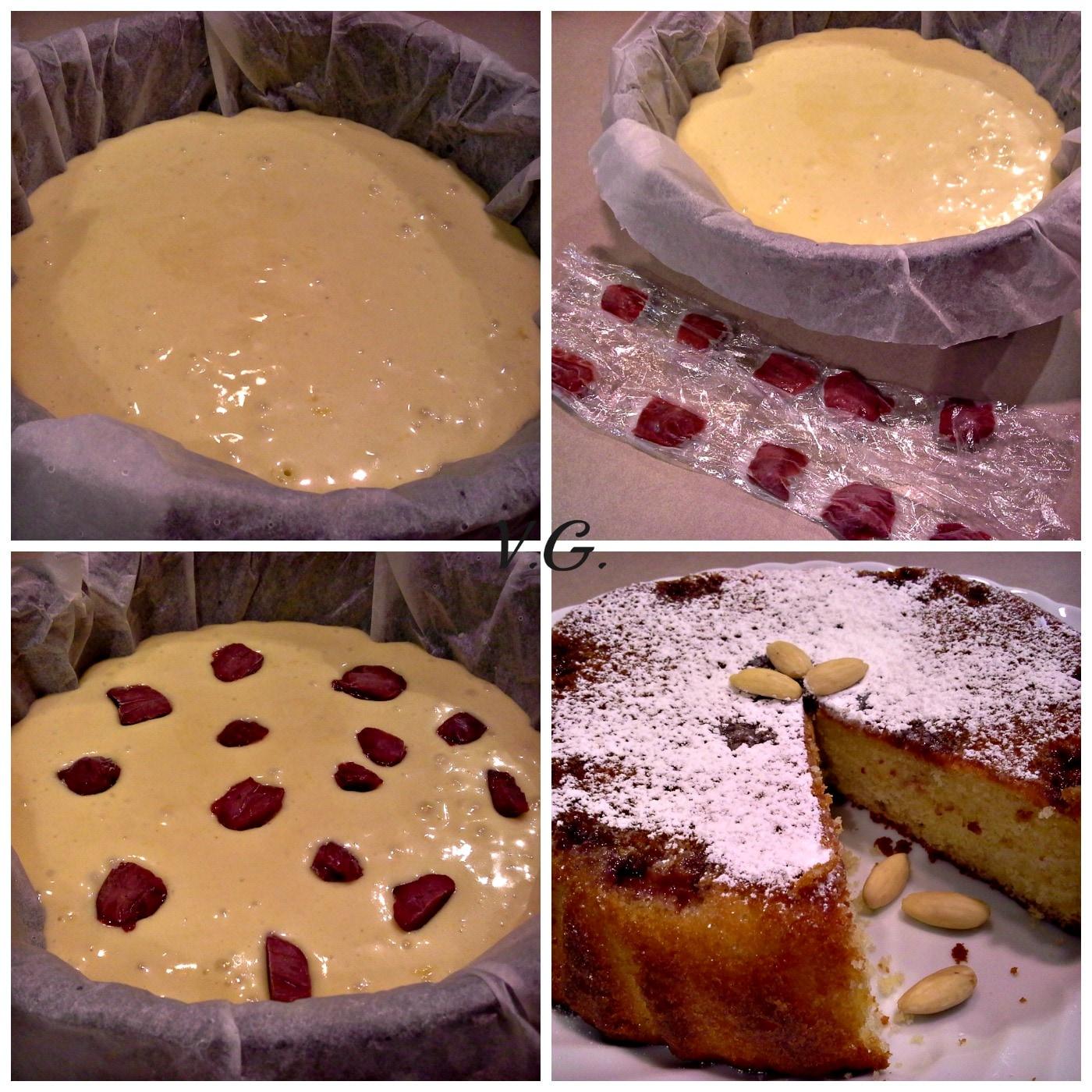 torta yogurt limone mandorle collage 2-2