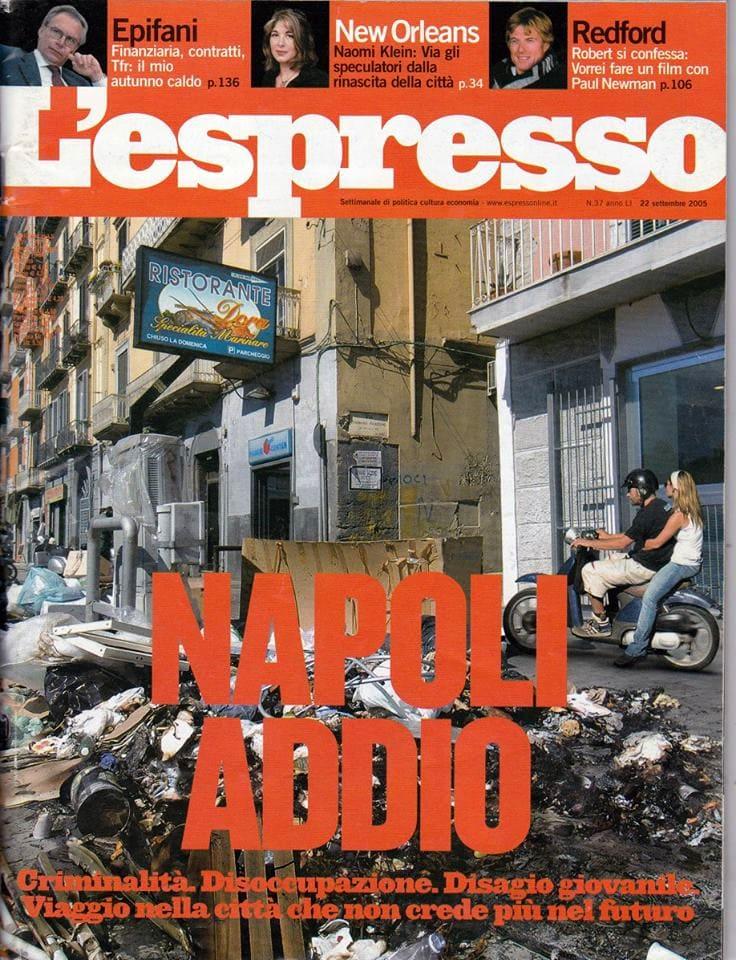 Copertina de L'espresso del 22.09.2005-2