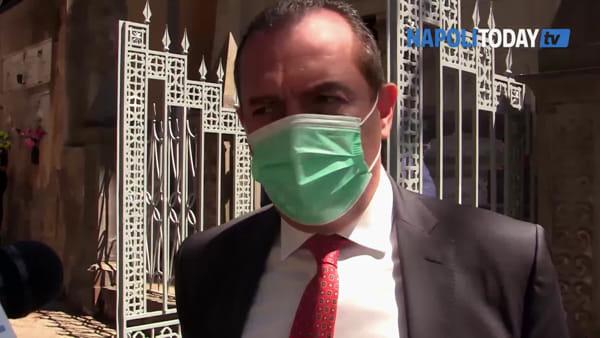 """De Magistris: """"Inquietati dalle tante indagini sull'Asl Napoli 1"""""""