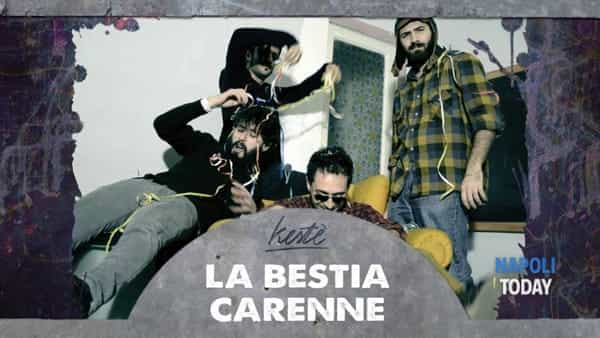 La Bestia Carenne in concerto