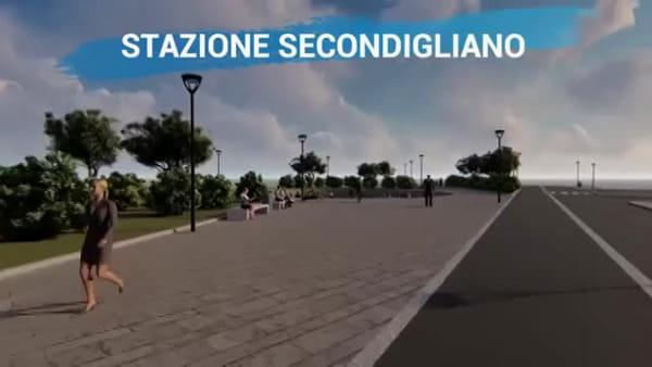 Secondigliano e Di Vittorio, ecco come saranno le prossime stazioni della metro (VIDEO)