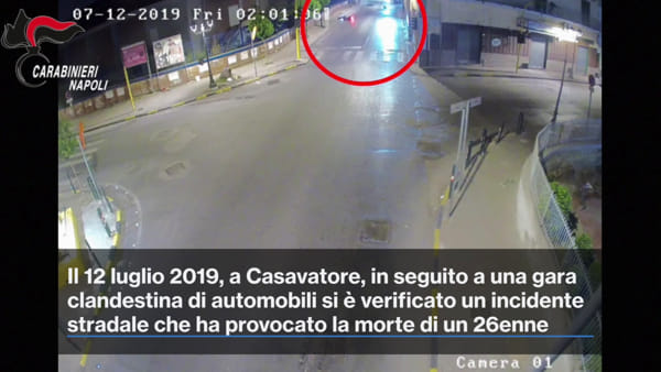 Gara clandestina mortale: due arresti | VIDEO