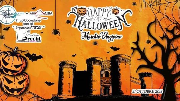 Halloween, misteriose presenze al Maschio Angioino: speciale tour al castello