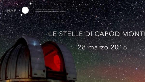 Le stelle di Capodimonte: apertura speciale serale dell'Osservatorio nella settimana di Pasqua