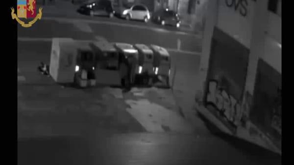 Arrestato il presunto piromane dei cassonetti | VIDEO