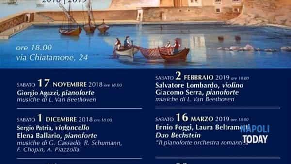 Concerto al Chiatamone del Duo Bechstein