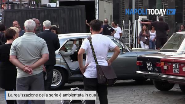 Si gira a Napoli la serie Amazon su Maradona
