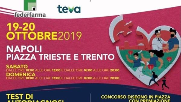 Tour della Salute e Crescendo in Salute: il doppio tour fa tappa a Napoli