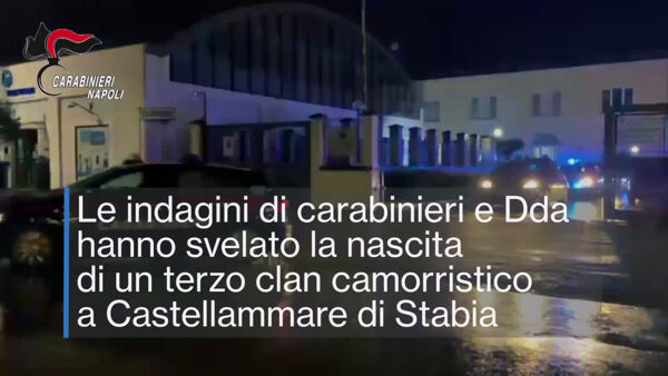 Scovato l'arsenale del terzo clan di Castellammare (VIDEO)