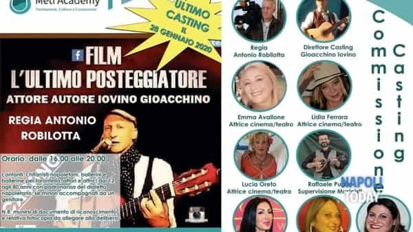 """Casting per il film """"L'ultimo Posteggiatore"""""""