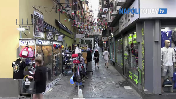 Quartieri spagnoli, la pedonalizzazione della discordia