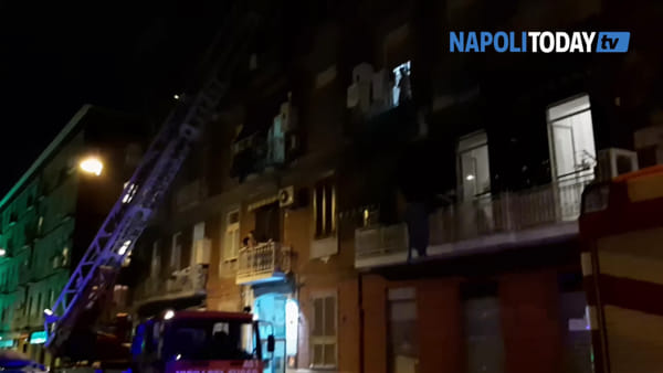 Cadono calcinacci nel Vasto: l'intervento dei pompieri | VIDEO