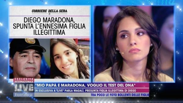 """Maradona, spunta un'altra presunta figlia: """"Voglio il test del dna"""""""