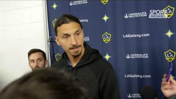 "Ibrahimovic: ""Ancelotti? Tutti mi chiamano"" | VIDEO"
