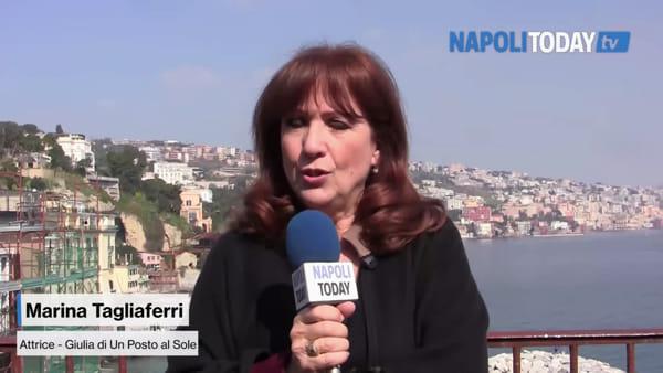 """Marina Tagliaferri, l'intervista: """"Il segreto di Un Posto al Sole è Napoli"""""""