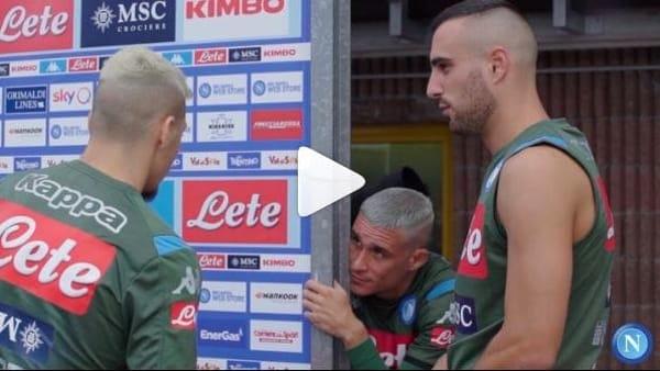 DIMARO - Giorno 3, i gol degli azzurri in partitella: Callejon con il nuovo look | VIDEO