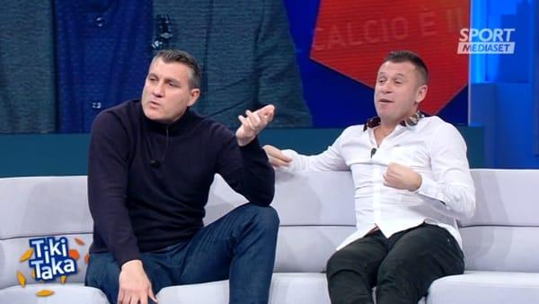 """Crisi Napoli, Vieri e Cassano: """"I calciatori non giocano mai contro l'allenatore"""""""