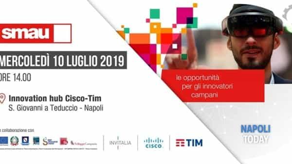 Le opportunità per gli imprenditori campani: presentazione all'Innovation hub di Cisco e TIM