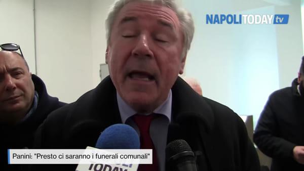 """Primo forno crematorio a Napoli, Panini: """"Presto i funerali comunali"""""""