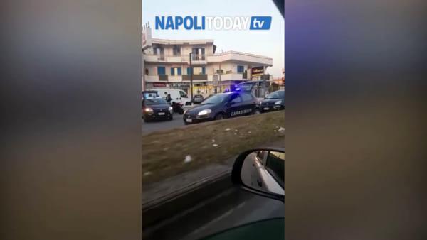 Code sull'Asse Mediano: intervengono i carabinieri