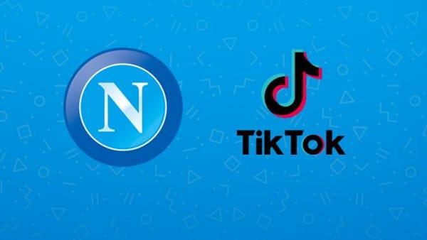 Il Napoli sbarca su TikTok: è il 13° account social azzurro