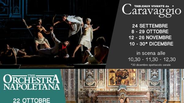 """""""I Tableaux Vivants da Caravaggio"""" tornano al Complesso Monumentale Donnaregina"""