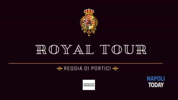 Royal tour alla scoperta dei Borbone: primo appuntamento alla Reggia di Portici