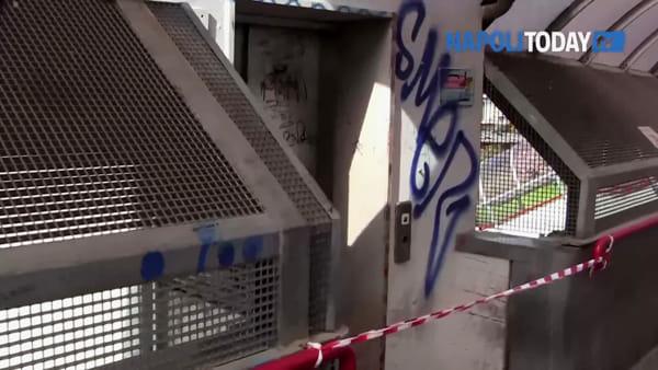 Circumvesuviana, viaggio nelle stazioni del terrore/VIDEO