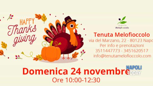 Happy Thanks Giving, Festa del Ringraziamento alla Tenuta Melofioccolo