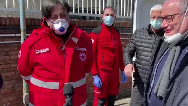 Il cuore di Fabio Cannavaro: dalla Cina 30mila mascherine per il Cotugno