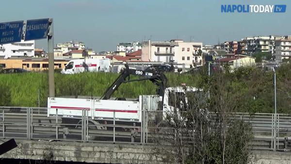 Crolla segnaletica sulla Circumvallazione | VIDEO