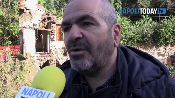 """Via Nuova San Rocco chiusa per crollo: """"Altri palazzi a rischio"""""""