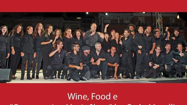"""Wine, Food e """"Donnaregina Music Show"""" di Carlo Morelli"""