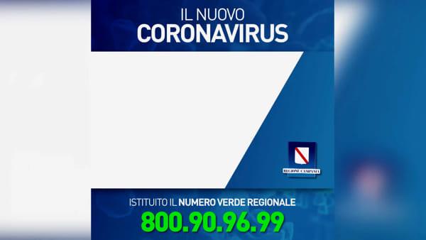 Coronavirus: la Regione attiva un numero verde