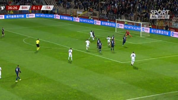 La Nazionale rigenera Insigne: l'azzurro in gol contro la Bosnia | VIDEO