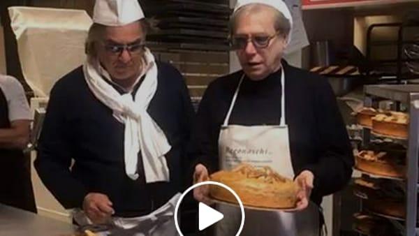 Nino D'Angelo e Mauro Nardi, l'esilarante sketch con pastiere e casatielli