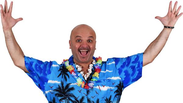 """Peppe Iodice in scena con """"Jody Beach Party"""""""