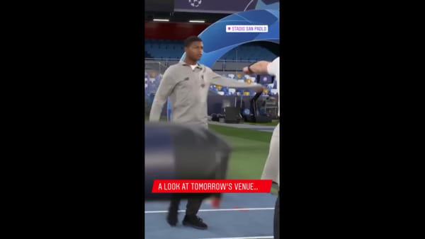 Il Liverpool al San Paolo: i Reds ammirano l'impianto rimodernato (VIDEO)