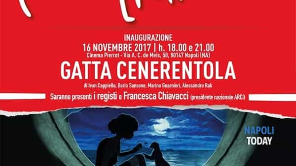 "il 16 novembre il cast di ""gatta cenerentola"" al cineforum dell'arci movie-2"