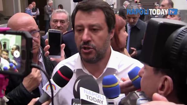 """Agguato piazza Nazionale, esulta Salvini: """"Con me meno crimini"""""""