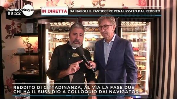 """Pasticciere napoletano: """"Non trovo più dipendenti a causa del Reddito di Cittadinanza"""""""