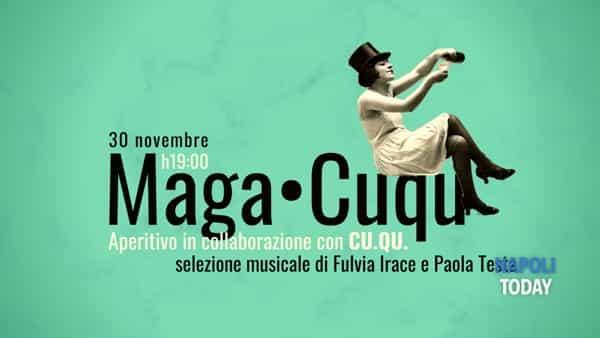 MAGA•CUQU: aperitivo musicale ai Magazzini Fotografici