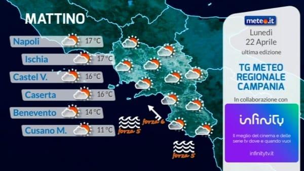 Meteo, le previsioni per Pasquetta su Napoli e Campania