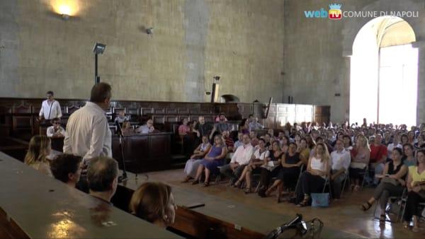 Comune di Napoli: in servizio 350 nuovi assunti