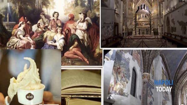 Tour nella Napoli trecentesca di Boccaccio e Petrarca